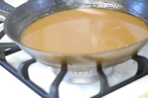 Gravy aka Quick Brown Sauce