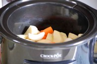 Vegetables in crockpot